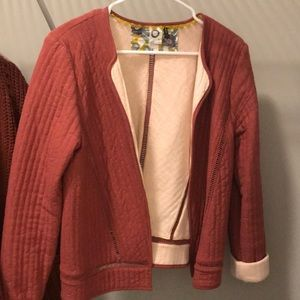 Anthropologie thick blazer